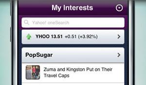 Yahoo! Mobile for iPhone