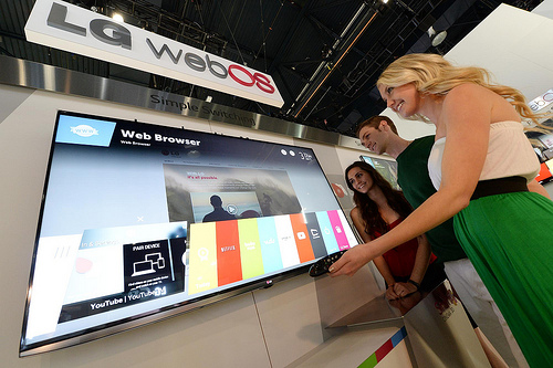 LG webOS TV from LG EPR's Flickr stream